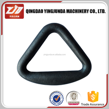 Rigging hardware Bended Triangle Delta Ring