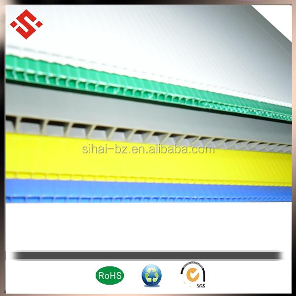 colorful corflute sheet