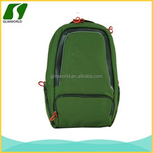 Fashionable and beautiful green laptop back pack