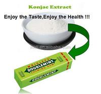 Diet food konjac gum base