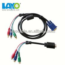 Wholesale 1.5m vga to rca splitter cable