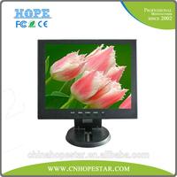 Small size 10.4 inch portable TFT LCD monitor lcd car cctv monitor with VGA/AV input