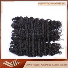 New Arrival YL Hair Products 6A Malaysian Deep Wave virgin hair 100%unprocessed Malaysian deep curly virgin hair