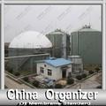 de doble membrana de biogás de almacenamiento de la cubierta para la planta de biogás
