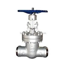 high pressure gate valve / butt weld gate valve