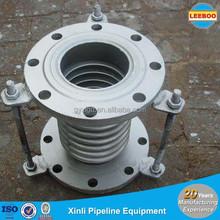 pressione assiale soffietto singolo compensatore tubazioni di scarico per turbine a gas