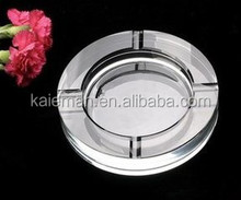 Round shape Promotional Crystal Ashtray Wholesale