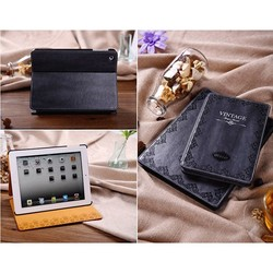 Mosiso Vintage Retro Flip Leather Smart Case Cover For iPad 2/3/4