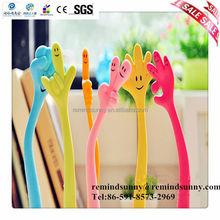 2015 New Design Creative Plastic Gift Finger Ball Pen