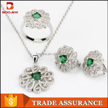 Fashion descriptions earrings and necklace fashion jewelry sets, 925 sterling silver fashion sets