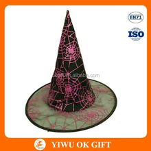 2015 Wholesale Halloween Party High Quality Spider Hats