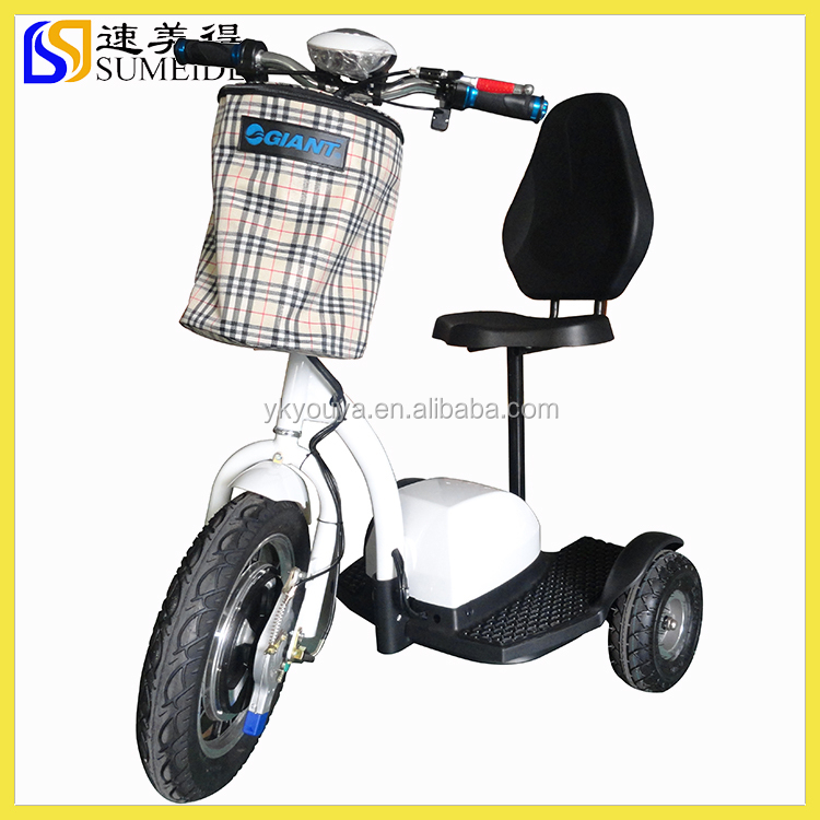Stable And Comfortable Three Wheel Electric Scooter For Elderly Buy Three Wheel Electric