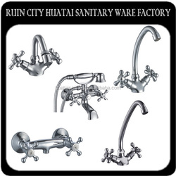 European two button faucet kitchen and bathroom faucets family
