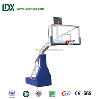 Exercise and training electric foldable most poular basketball stand for public area