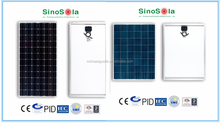 solar panel 400w mono or poly selectable with high efficiency crystalline silicon cells