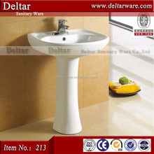 washing hand basin, white colour high temperature ceramic sink and basin