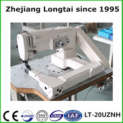 20UZNH auto oil industrial bending arm zigzag machine bed covers