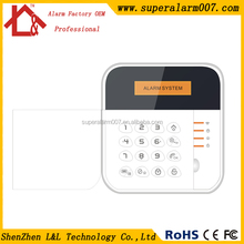 SMS alert for power failure or low voltage 433mhz 4 GSM band alarm