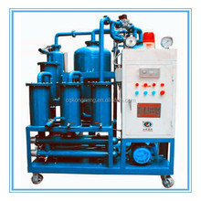 vacuum mechanical impurities and moiture removing oil cleaning centrifuge