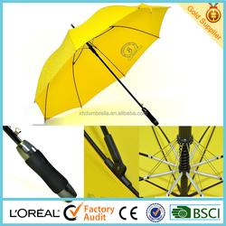 steel ribs of golf umbrella with double ribs umbrella