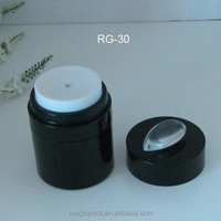 15g 30g 50g skin care cream cosmetics airless pump acrylic cylinder container