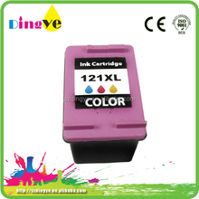 cheap price refill compatible printer ink cartridge 121xl for hp printer