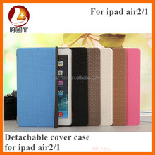 2015 new design Multiple Color Best PU Leather Case For iPad Air 2 Case