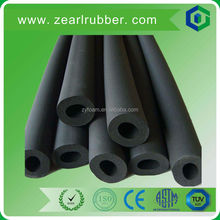 flexible black rubber foam pipe insulation for refrigeration duct