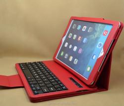 2 in 1 wireless keyboard leather case for ipad 5