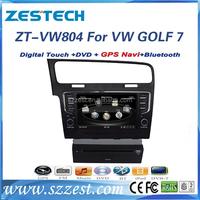 """ZESTECH touch screen 8"""" gps/radio/3G/BT/Dvd player, for vw golf 7 car multimedia 2013"""