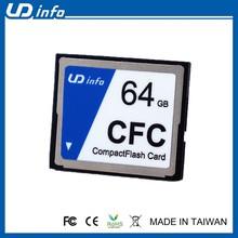 Industrial CompactFlash 2GB CF Card Extension SLC 128GB CF Memory Card
