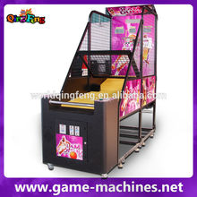 Qingfeng game machine basketball arcade game for sale high quality street basketball machines with great price