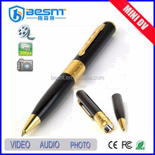 2015 china supplier Mini cheapest tf card pen camera with video/audio recording (BS-723)