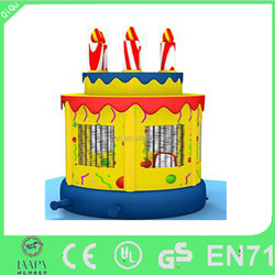 New design commercial cake bounce houses for sale