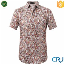 2015 sexy floral printed shirts, casual shirts for mens