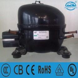 QZ55HG Refrigeration R134a Compressor for Refrigerator