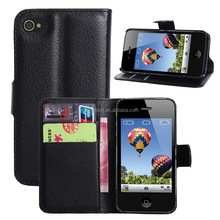 Assorted colors brand new functional case for apple iphone 4