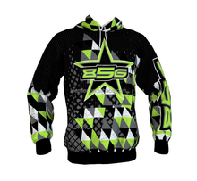 2015 New Style Cool design dye sublimation hoodies with pouch pockets
