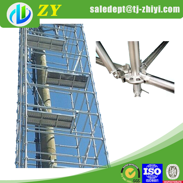 Aluminum Scaffold Parts : Silver scaffold caster and aluminum parts for
