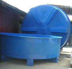 FRP fish tank, GRP fish farm tank, Fiberglass fish pond