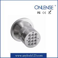 round knob digital door lock