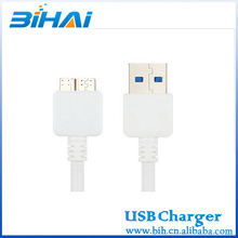 high speed usb 3.0 cable for samsung NOTE3 cable data and charging galaxy note 3 usb cable