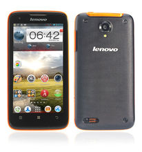 4.5'' Lenovo S750 Mobile Phone Android 4.2 RAM 1GB ROM 4GB MTK6589 Quad Core 1.2GHz 8.0MP Gorilla Glass Screen 960X540 Pixels