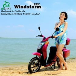 Windstorm,OL Style 18 inch wheel classic electric motorcycle with eec