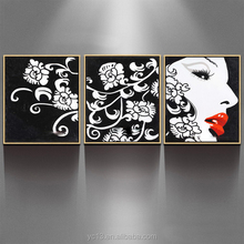 home decor pure hand canvas art picture frame oil painting ZZ-1386
