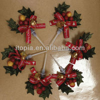 2013 Ornaments Christmas tree cake decorating