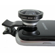 For iPhone 4/4s/5/Samsung S3 0.4x super wide angle lens