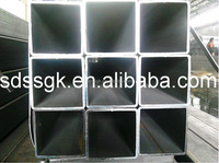 Q345 ISO9001-2008 square steel tube,structural steel section properties
