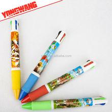 EN71 STANDARD new products crystal touch pen 4 in 1 multi function pen