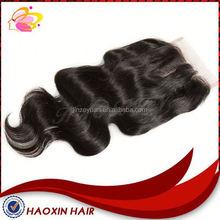 Popular Lace Closures Virgin Mongolian Wavy Hair